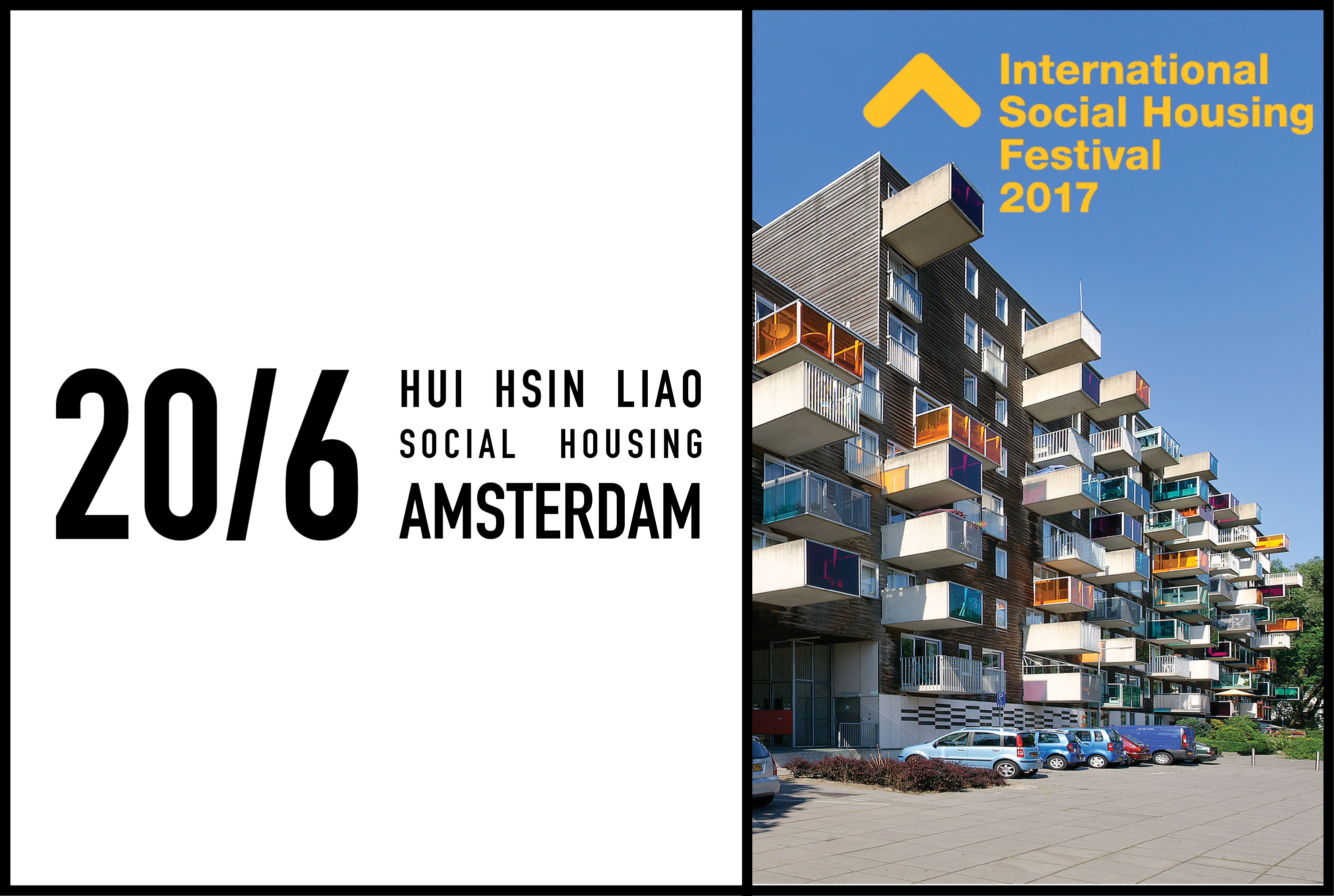 MVRDV's Hui Hsin Liao to give lecture at International Social Housing Festival in Amsterdam, 20 June 2017