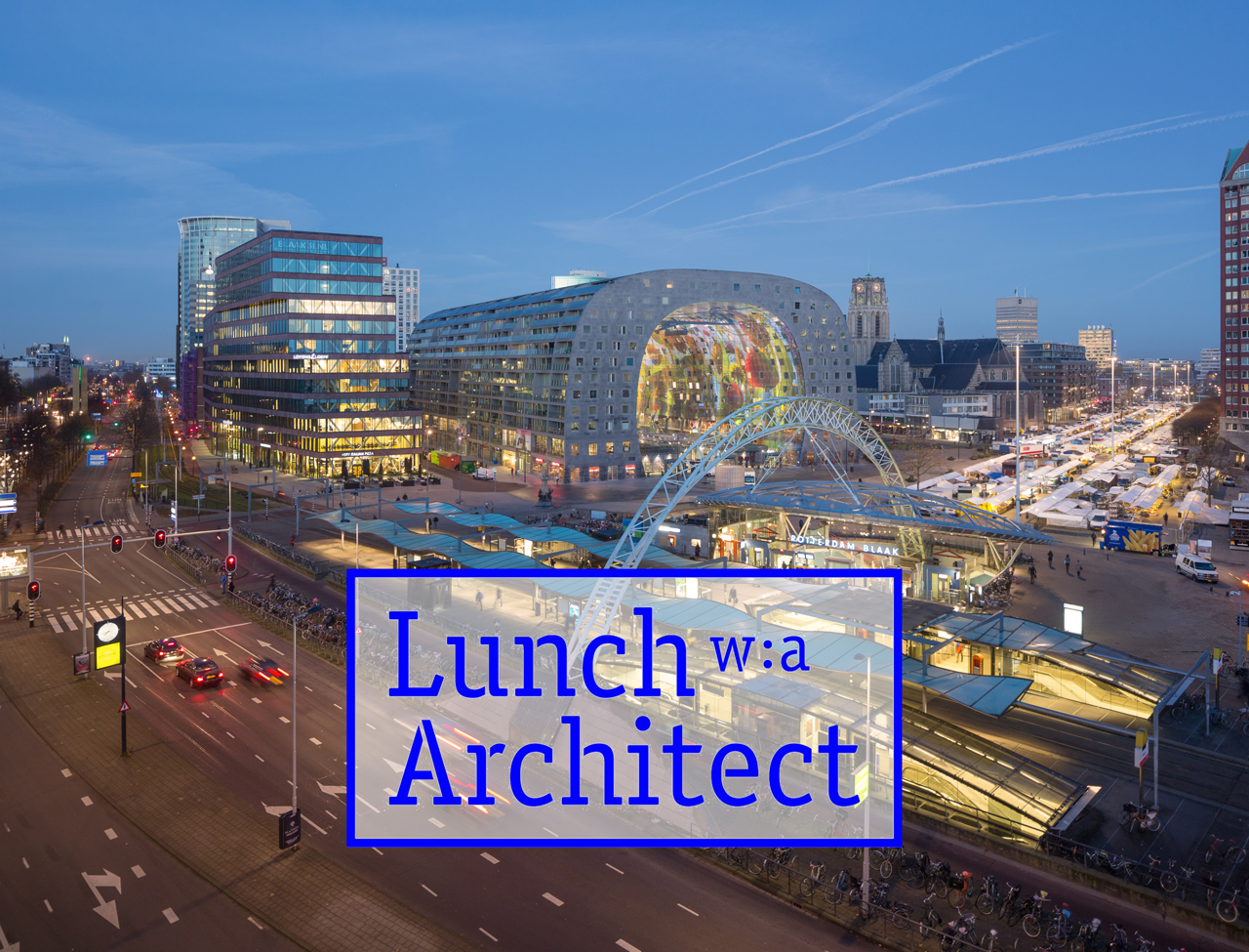 Winy Maas to take part in Lunch with an Architect in Brussels, 6th June 2016