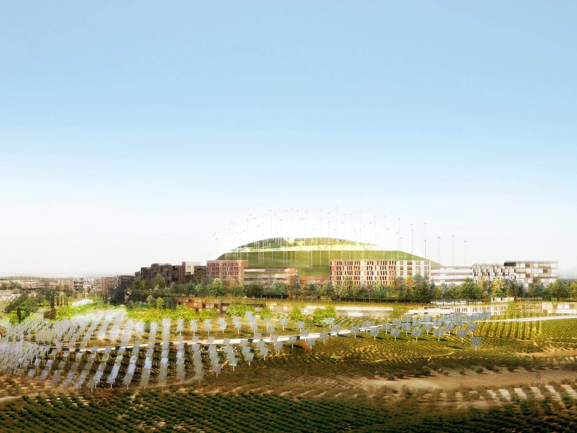 Mvrdv Montecorvo Eco City