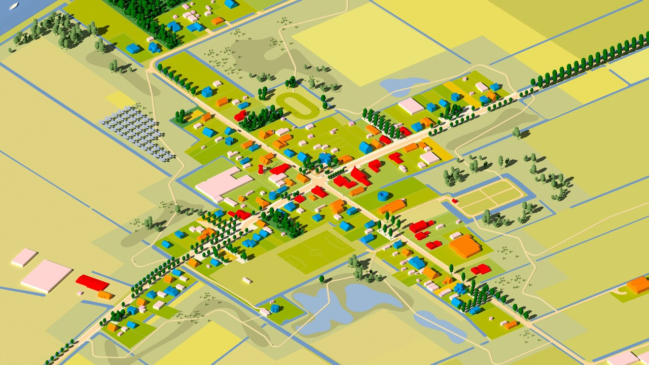 Residents and MVRDV Develop a Vision for a Village Battered by Gas Extraction