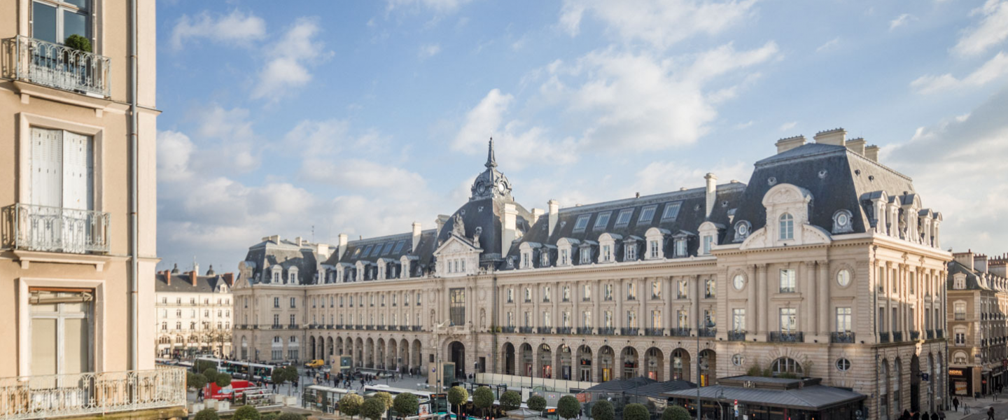 MVRDV shortlisted as a finalist for the transformation of Palais du Commerce, Rennes