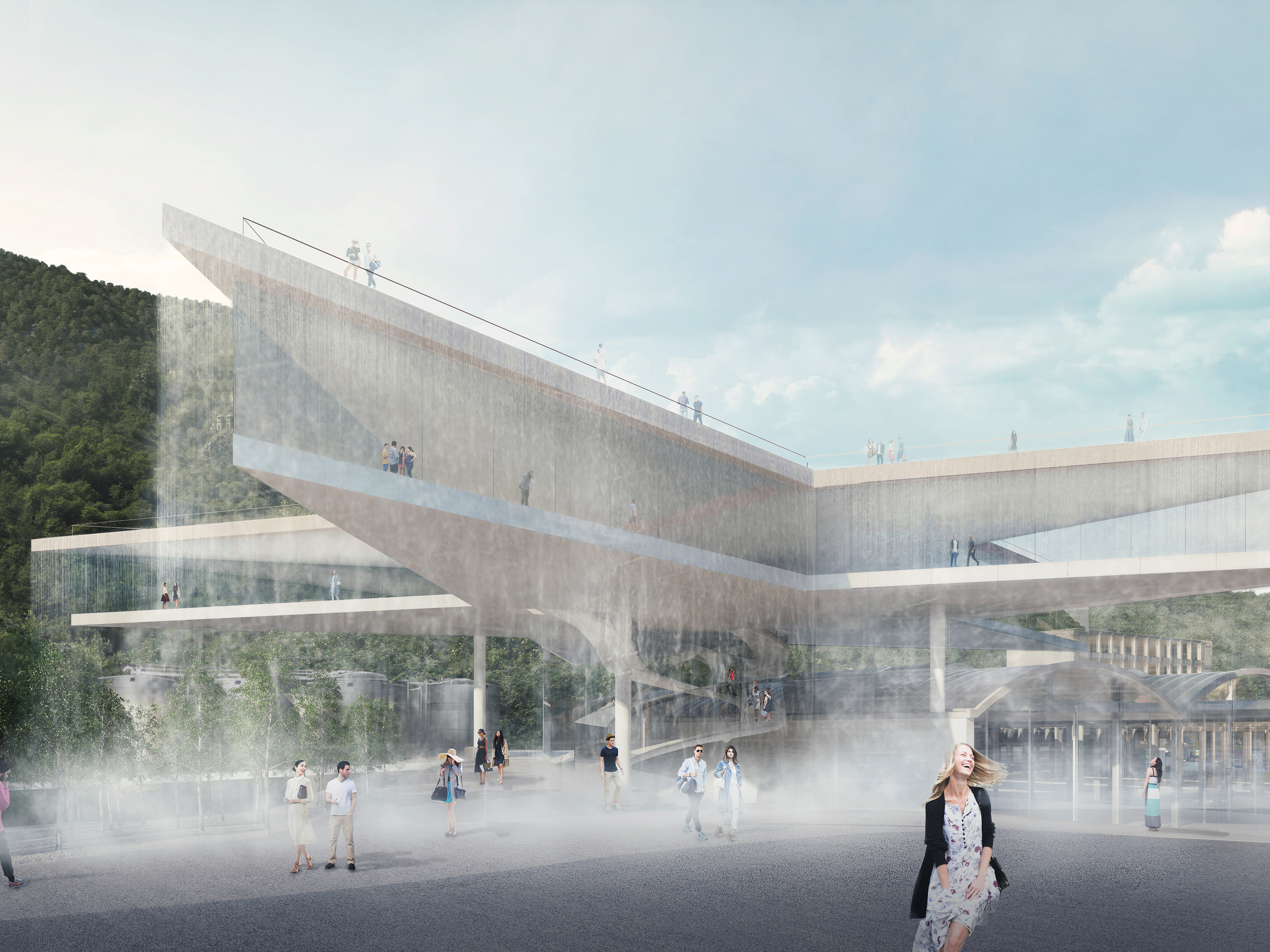 MVRDV shortlisted as a finalist to build S.Pellegrino's new home