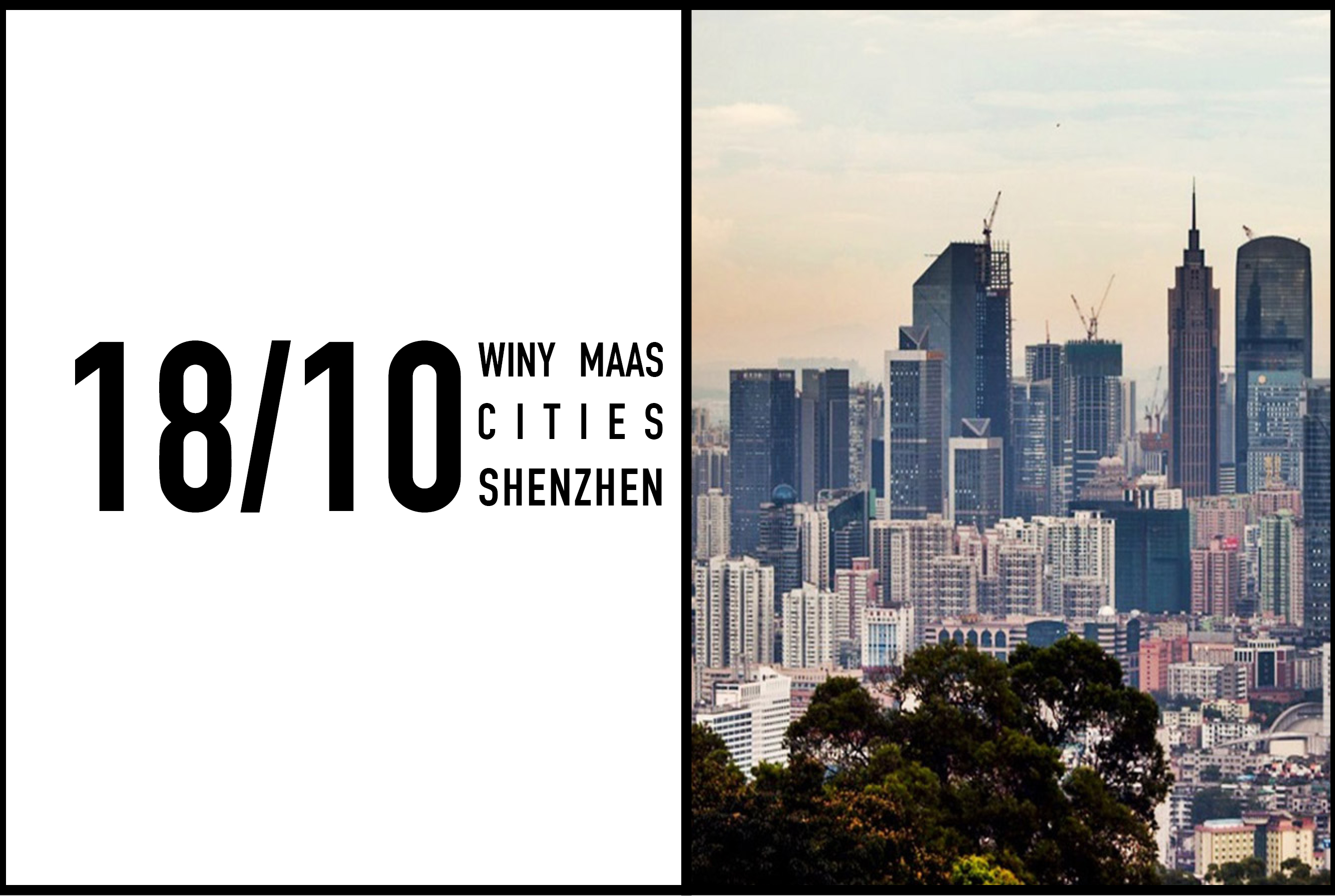 Winy Maas to give a lecture at CTBUH 2016 Shenzhen, China, 18th October 2016