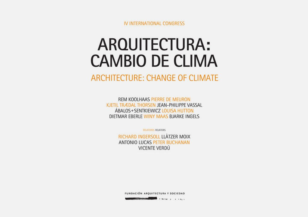 Watch - Architecture: Change of Climate - Winy Maas Lecture