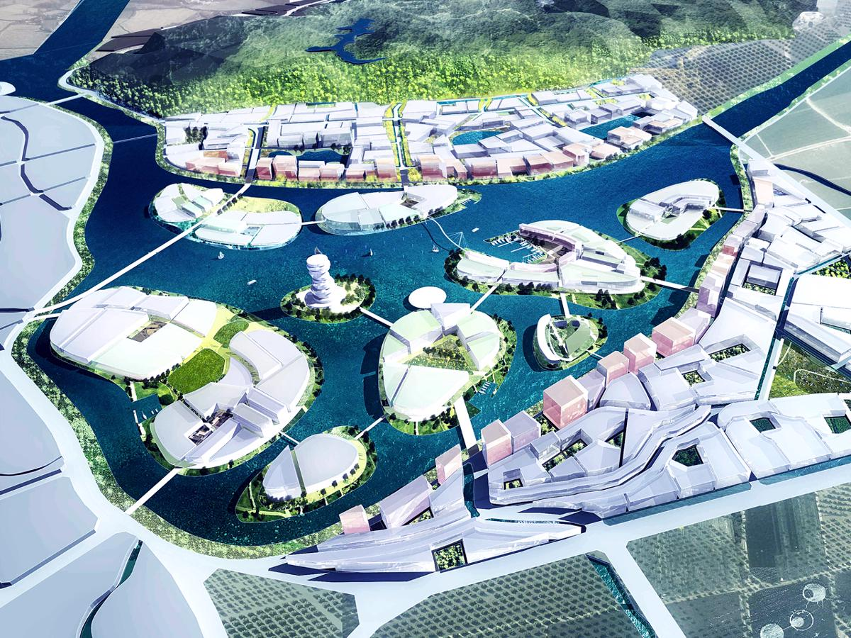 XinJin Water City